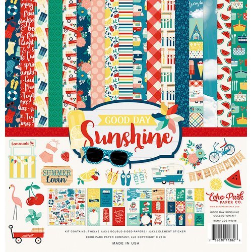 Echo Park - Good Day Sunshine Collection - 12 x 12 Collection Kit