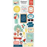 Echo Park - Good Day Sunshine Collection - Chipboard Stickers - Phrases