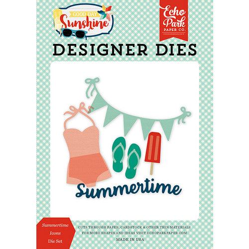 Echo Park - Good Day Sunshine Collection - Designer Dies - Summertime Icons