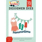 Echo Park - Good Day Sunshine Collection - Designer Dies - Summertime Icons