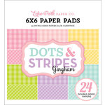 Echo Park - Dots and Stripes Gingham Collection - Spring - 6 x 6 Paper Pad