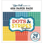 Echo Park - Dots and Stripes Gingham Collection - Summer - 6 x 6 Paper Pad