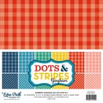 Echo Park - Dots and Stripes Gingham Collection - Summer - 12 x 12 Collection Kit