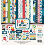 Echo Park - Go See Explore Collection - 12 x 12 Collection Kit