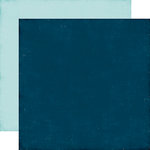 Echo Park - Go See Explore Collection - 12 x 12 Double Sided Paper - Navy