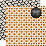 Echo Park - Halloween Collection - 12 x 12 Double Sided Paper - Halloween Pumpkins