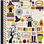Echo Park - Halloween Collection - 12 x 12 Cardstock Stickers - Elements