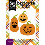 Echo Park - Halloween Collection - Designer Dies - Jolly Jack-o-Lantern