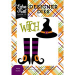 Echo Park - Halloween Collection - Designer Dies - Witch