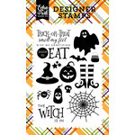 Echo Park - Halloween Collection - Clear Acrylic Stamps - The Witch is In