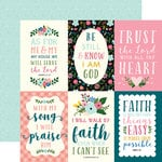 Echo Park - Have Faith Collection - 12 x 12 Double Sided Paper - 4 x 6 Journaling Cards