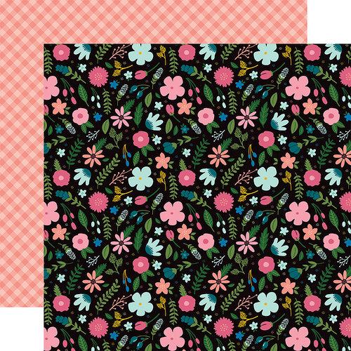 Echo Park - Have Faith Collection - 12 x 12 Double Sided Paper - Faith Floral