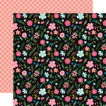 Echo Park - Have Faith Collection - 12 x 12 Double Sided Paper - Faith Floral