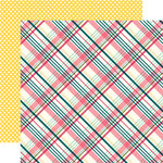 Echo Park - Have Faith Collection - 12 x 12 Double Sided Paper - Perfect Plaid