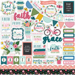 Echo Park - Have Faith Collection - 12 x 12 Cardstock Stickers - Elements