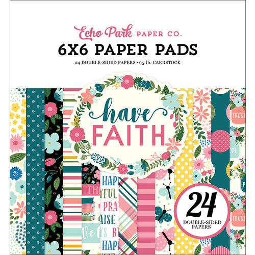 Echo Park Paper Have Faith 6x6 in Paper Pad