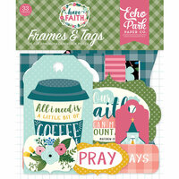Echo Park - Have Faith Collection - Ephemera - Frames and Tags