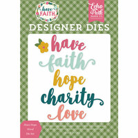Echo Park - Have Faith Collection - Designer Dies - Have Hope Word