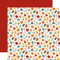Echo Park - Happy Fall Collection - 12 x 12 Double Sided Paper - Welcome Fall