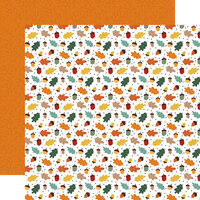 Echo Park - Happy Fall Collection - 12 x 12 Double Sided Paper - Cool Breeze