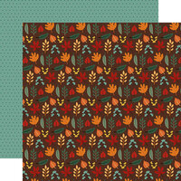 Echo Park - Happy Fall Collection - 12 x 12 Double Sided Paper - Sweet Fall