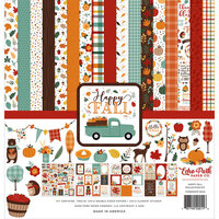 Echo Park - Happy Fall Collection - 12 x 12 Collection Kit