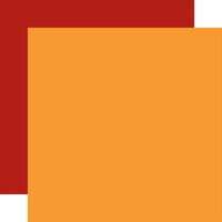 Echo Park - Happy Fall Collection - 12 x 12 Double Sided Paper - Orange