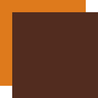 Echo Park - Happy Fall Collection - 12 x 12 Double Sided Paper - Brown