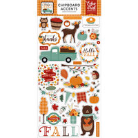 Echo Park - Happy Fall Collection - Chipboard Stickers - Accents