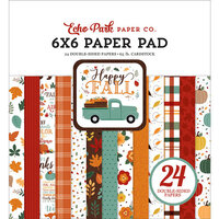 Echo Park - Happy Fall Collection - 6 x 6 Paper Pad