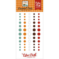 Echo Park - Happy Fall Collection - Enamel Dots