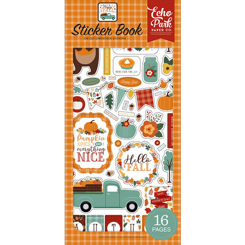 Echo Park - Happy Fall Collection - Cardstock Sticker Book
