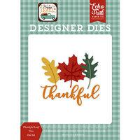 Echo Park - Happy Fall Collection - Designer Dies - Thankful Leaf Trio