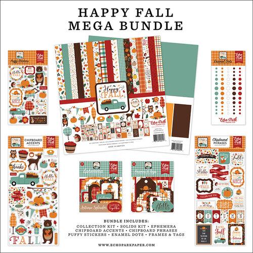 Echo Park - Happy Fall Collection - Mega Bundle