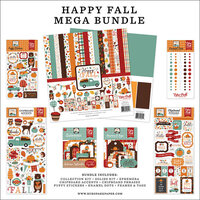 Echo Park - Happy Fall Collection - Mega Bundle