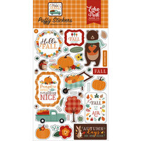 Echo Park - Happy Fall Collection - Puffy Stickers