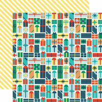 Echo Park - Happy Birthday Boy Collection - 12 x 12 Double Sided Paper - Gifts Galore