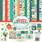 Echo Park - Happy Birthday Boy Collection - 12 x 12 Collection Kit