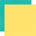 Echo Park - Happy Birthday Boy Collection - 12 x 12 Double Sided Paper - Yellow