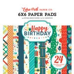 Echo Park - Happy Birthday Boy Collection - 6 x 6 Paper Pad