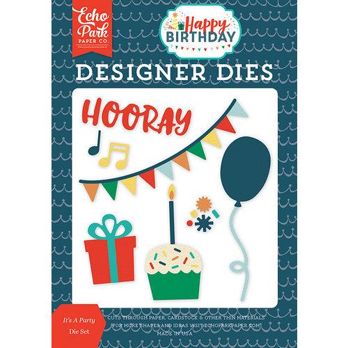 Echo Park - Happy Birthday Boy Collection - Designer Dies - It