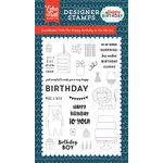 Echo Park - Happy Birthday Boy Collection - Clear Photopolymer Stamps - Happy Birthday To You