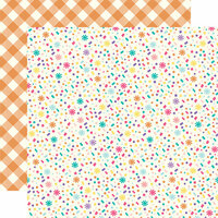 Echo Park - Happy Birthday Girl Collection - 12 x 12 Double Sided Paper - Confetti Confection