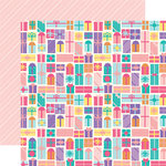 Echo Park - Happy Birthday Girl Collection - 12 x 12 Double Sided Paper - Birthday Gifts
