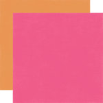 Echo Park - Happy Birthday Girl Collection - 12 x 12 Double Sided Paper - Dark Pink