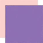 Echo Park - Happy Birthday Girl Collection - 12 x 12 Double Sided Paper - Purple