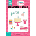 Echo Park - Happy Birthday Girl Collection - Designer Dies - Birthday Celebration