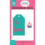 Echo Park - Happy Birthday Girl Collection - Designer Dies - To-From Tag