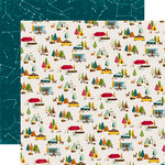 Echo Park - Happy Camper Collection - 12 x 12 Double Sided Paper - Happy Camper
