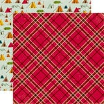 Echo Park - Happy Camper Collection - 12 x 12 Double Sided Paper - Lumberjack